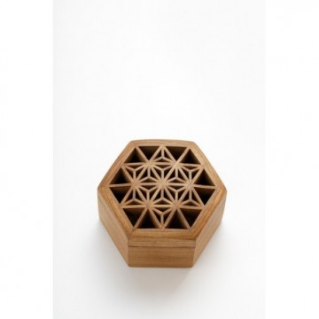 KinomoBox Hemp leaf hexagonal - small box
