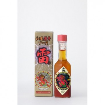 Japanese spicy sauce KAMINARI Or