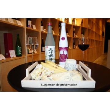 """Sake for cheese"" tasting"