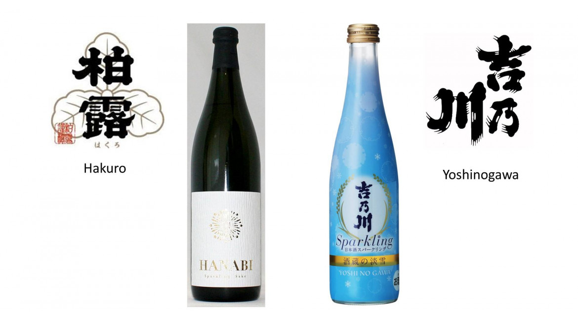 Tasting of sparkling sake in Kinasé - June 14 and 15, 2019