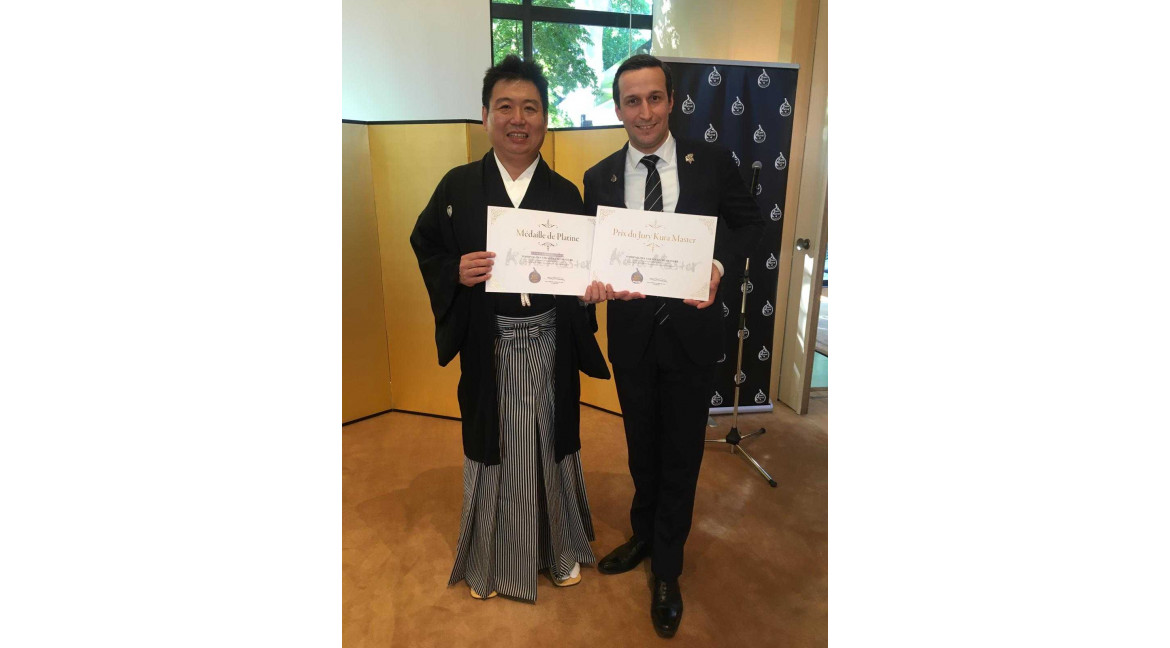 Yoshinogawa wins first place in the Kura Master 2019 competition, Sake Sparkling Soft category